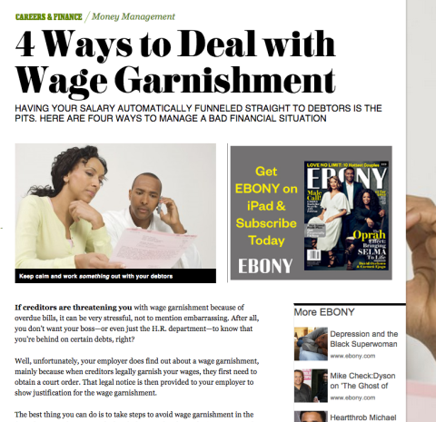 4 Ways to Deal with Wage Garnishment