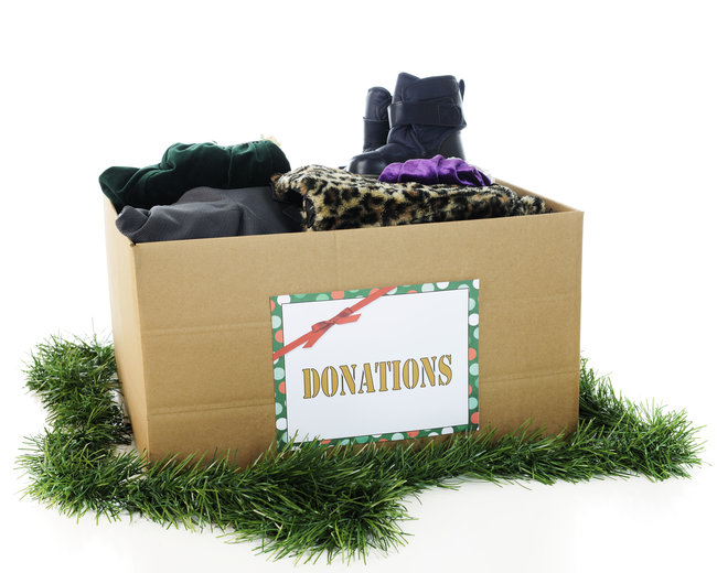 Christmas Clothing Donations